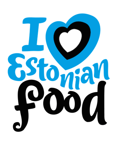 I Love Estonian Food logo
