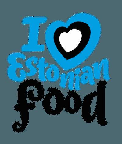 I Love Estonian Food logo